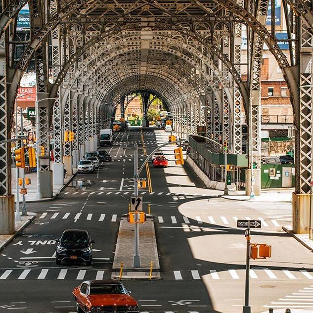 575 Riverside Drive, Harlem, Manhattan, New York, June 2020