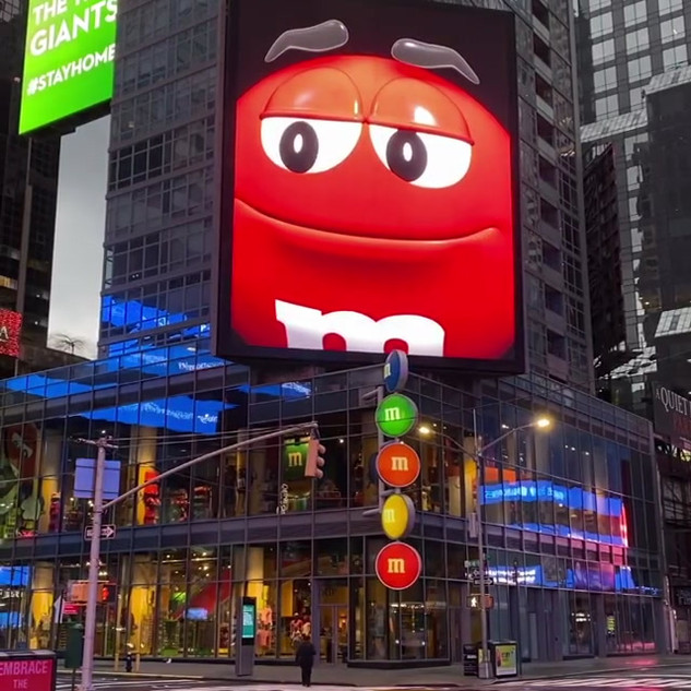 MMS Store, Times Square, April 2020