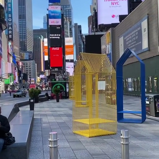 Times Square, May 2020, during the pandemic