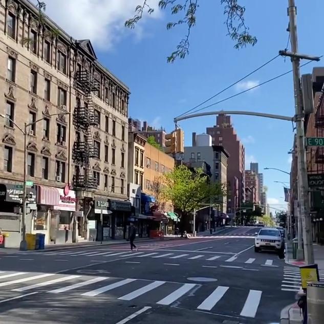 Lexington Avenue and 90th Street, Upper East Side, Manhattan
