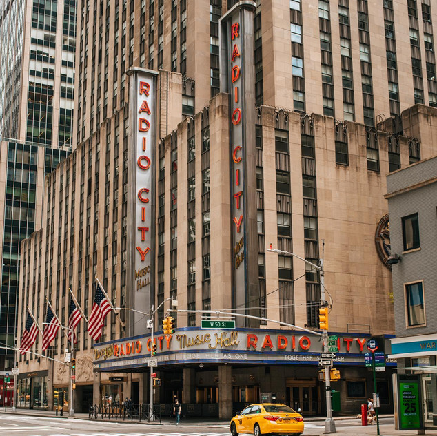 Radio City Music Hall, during the pandemic, July 2020