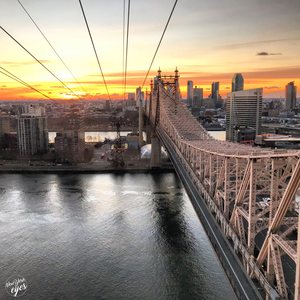 Queensborough Bridge view from the Tramway