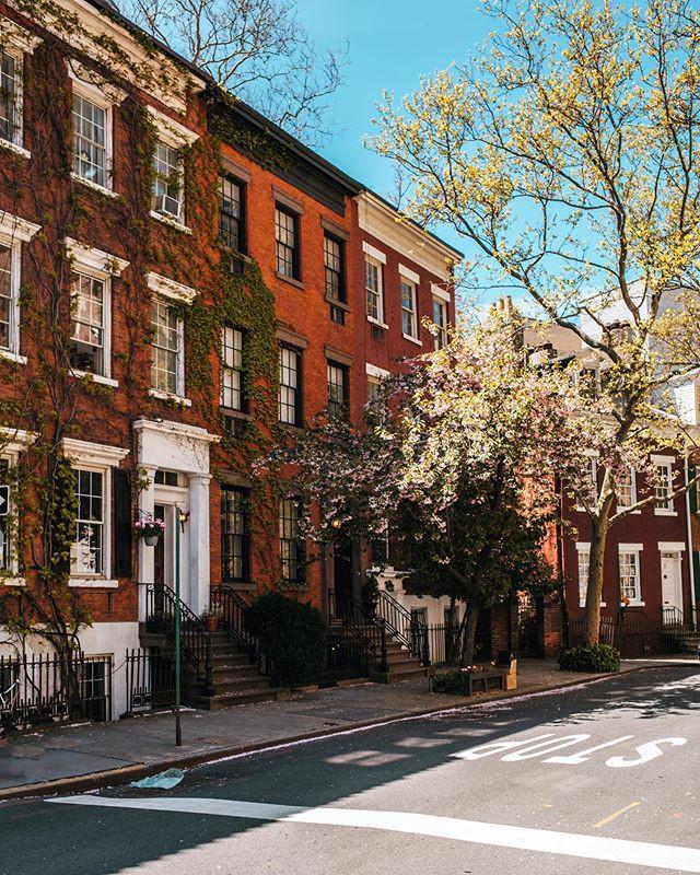 Grove Street, West Village, Manhattan, New York, May 2020