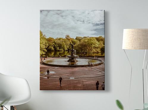 Bethesda Fountain Canvas