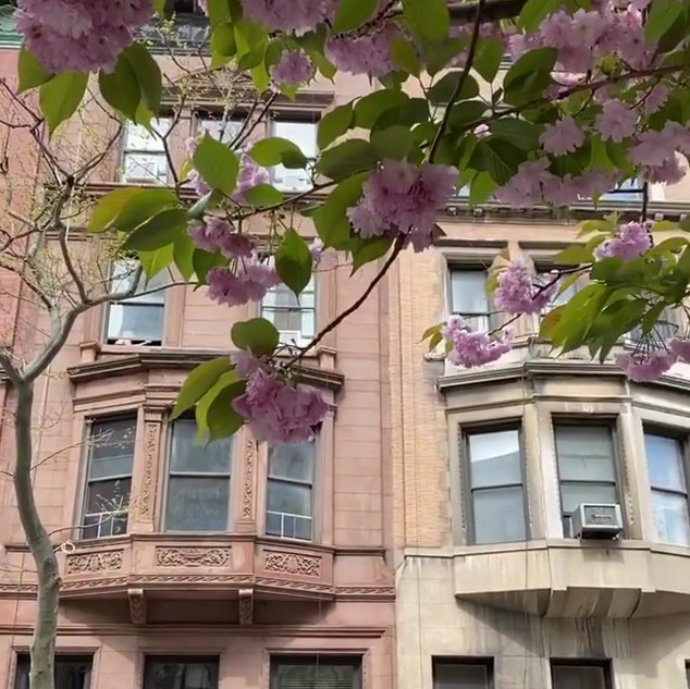 West 70th Street, between Central Park West and Columbus Ave, Upper West Side, Manhattan, New Yorkm April 2020