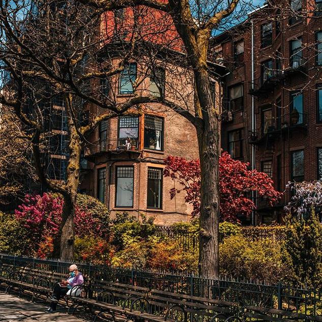 Brooklyn Heights Promenade, Brooklyn, May 2020