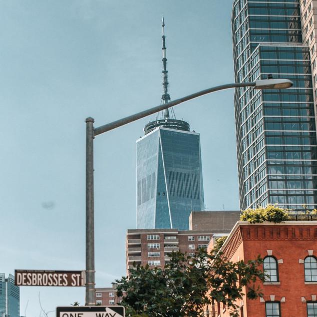 Desbrosses Street, Manhattan, New York, September 2020