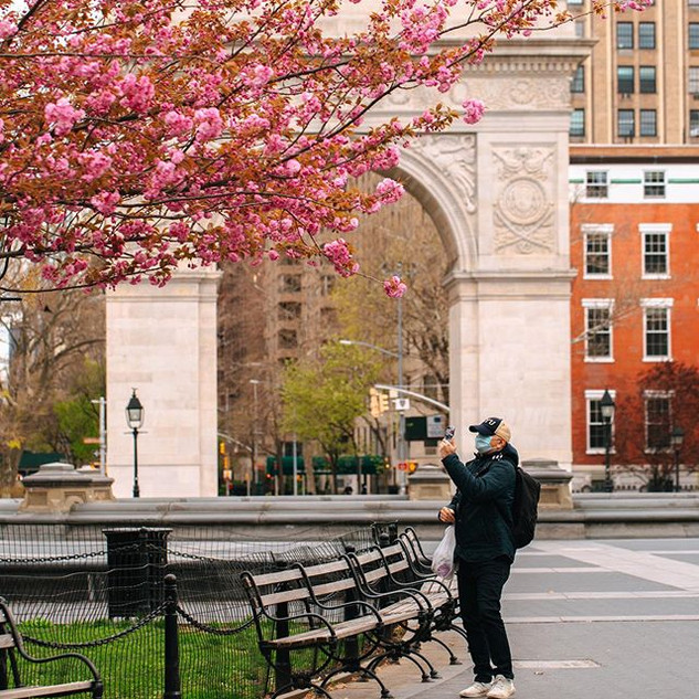 Washington Square Park, West Village, Manhattan, New York