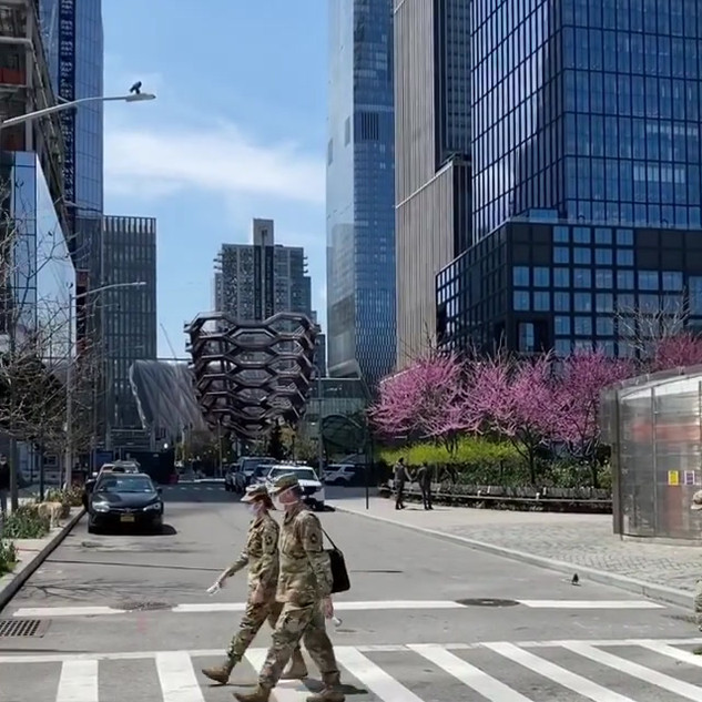 Hudson Yards, Manhattan, April 2020