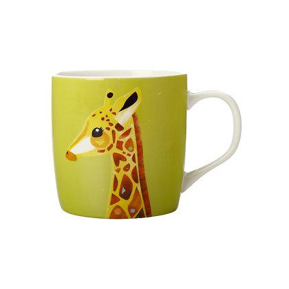 Maxwell & Williams Pete Cromer Wildlife Mug 375ML Giraffe Gift Boxed