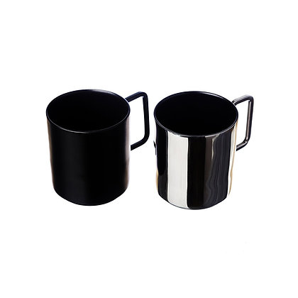 Just Slate 2 Stainless Steel Coffee Cups