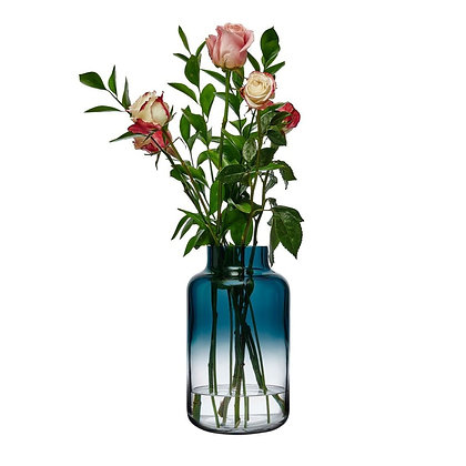 Nude Magnolia Vase Medium 34cm (Blue)