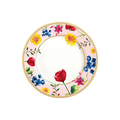 Maxwell & Williams Teas & C's Contessa Rim Plate 19.5cm Rose Gift Boxed