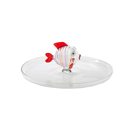 Massimo Lunardon - Fish Tray (Red)