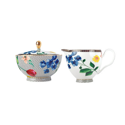 Maxwell & Williams Teas & C's Contessa Sugar & Creamer Set White Gift Boxed