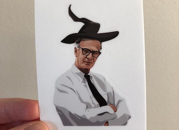 Skinner Wizard Sticker