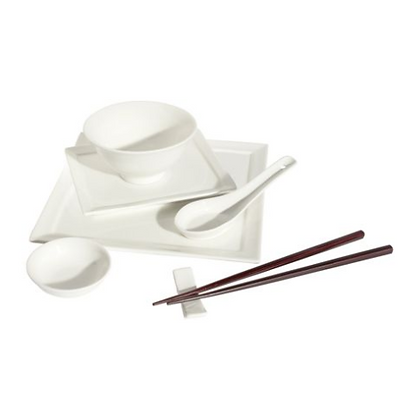 Maxwell & Williams White Basics Shanghai 29 Piece Gift Boxed (For 4 people)