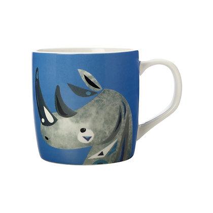 Maxwell & Williams Pete Cromer Wildlife Mug 375ML Rhino Gift Boxed
