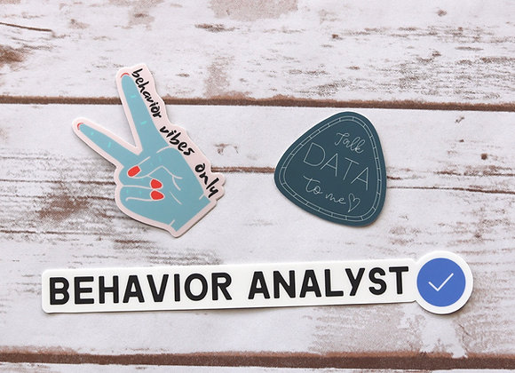 Influencer Sticker Bundle - set of 3