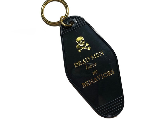 Dead Men Hotel Key Chain