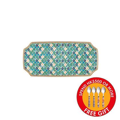 Maxwell & Williams Teas & C's Kasbah Rectangle Platter 25x11.5cm Mint