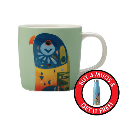 Maxwell & Williams Pete Cromer Mug - Lorikeet
