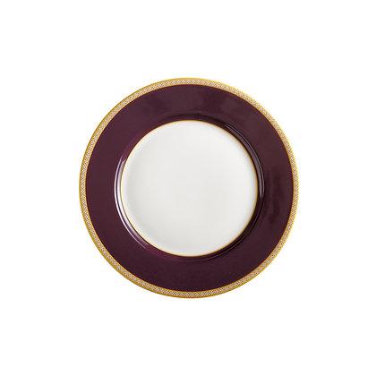Maxwell & Williams Teas & C's Kasbah Classic Rim Plate 19.5cm Violet
