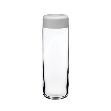 Nude - Finesse Jug with Cover Clear with Grey Cover