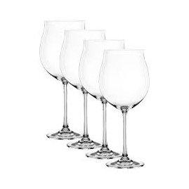 Nachtmann Vivendi Burgundy/Pinot Noir Set of 4