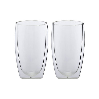 Maxwell & Williams Blend Double Wall Cup 450ML Set of 2 Gift Boxed