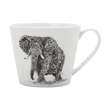 Maxwell & Williams Marini Ferlazzo Mug - African Elephant 450ML Sqt
