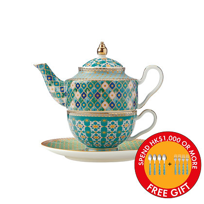 Maxwell & Williams Teas & C's Kasbah Tea For 1 with Infuser 380ML Mint