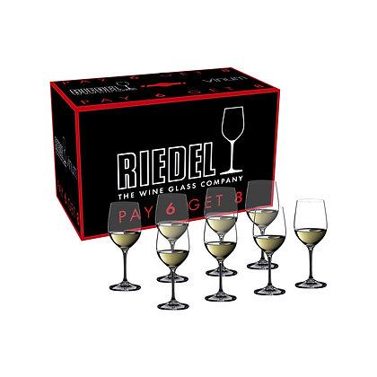 Riedel Vinum Viognier/Chardonnay Pay 6 Get 8