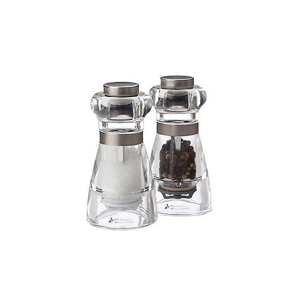 Maxwell & Williams Dynasty Acrylic Salt & Pepper Mill Set