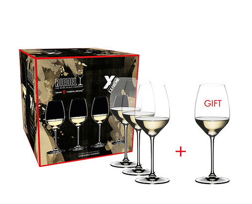 Riedel Extreme Riesling/Sauvignon Blanc Pay 3 Get 4