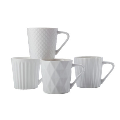 Maxwell & Williams Latitude Mug Set of 4 400ML