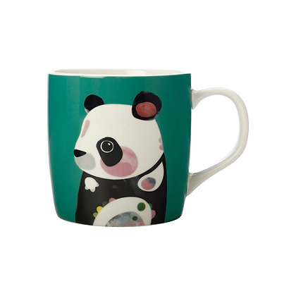 Maxwell & Williams Pete Cromer Wildlife Mug 375ML Panda Gift Boxed
