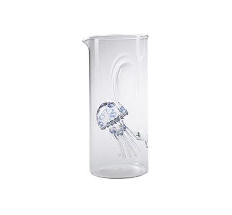Massimo Lunardon - Jellyfish Carafe (Blue)