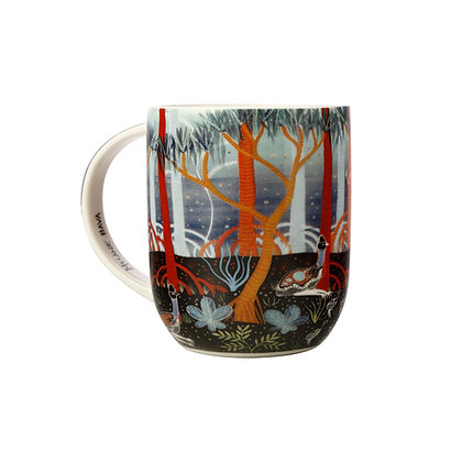 Maxwell & Williams Melanie Hava Jugaig-Bana-Wabu Mug 440ML Cassowaries