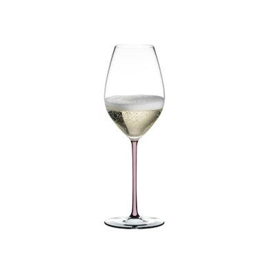Riedel Fatto A Mano Champagne Wine Glass Pink
