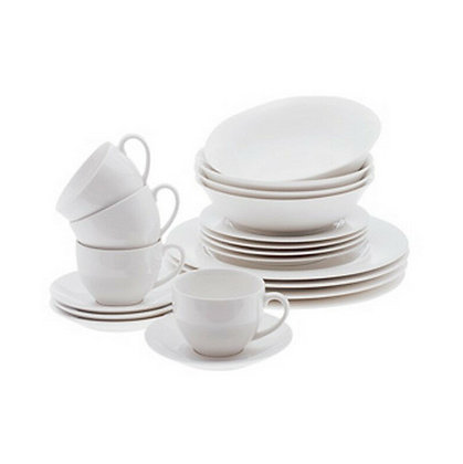 Maxwell & Williams White Basics European Dinner Set 20pc Gift Boxed