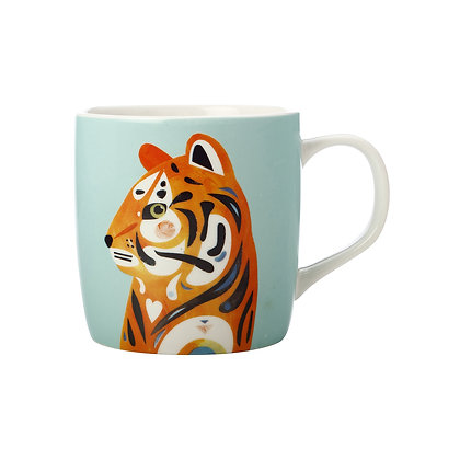 Maxwell & Williams Pete Cromer Wildlife Mug 375ML Tiger Gift Boxed