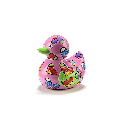 Britto Limited Edition Duck Figurine - Love