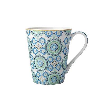 Maxwell & Williams Teas & C's Isfara - Mug 360ML Bukhara Blue/Red