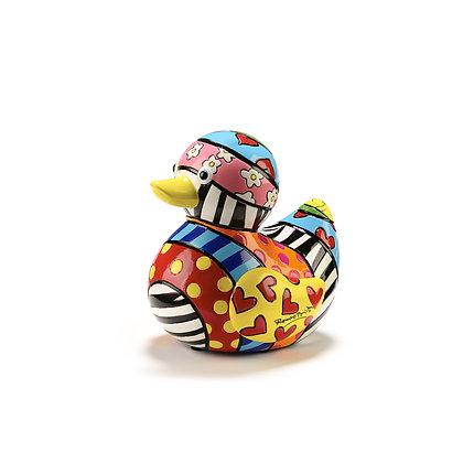Britto Limited Edition Duck Figurine - Dream