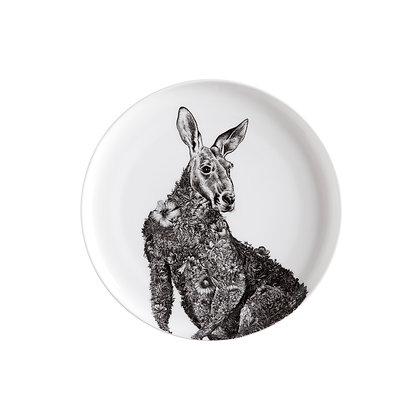 Maxwell & Williams Marini Ferlazzo Plate - 20cm Red Kangaroo