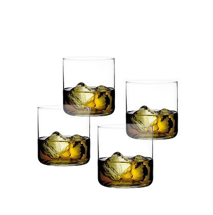 Nude Finesse Whisky Glass Set of 4 glasses