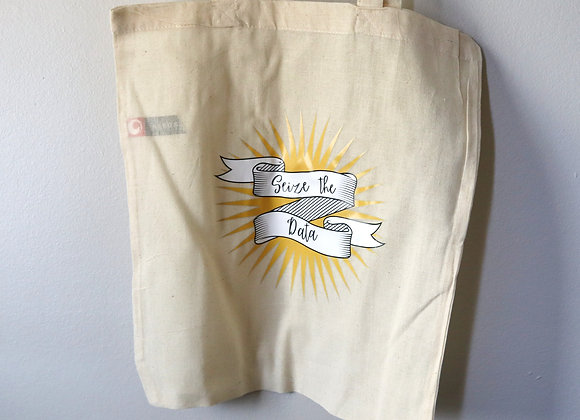 Seize the Data Tote Bag