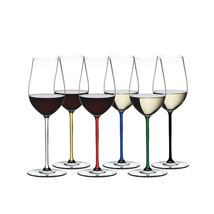 Riedel Fatto A Mano Gift Set Riesling/Zinfandel (Set of 6 pcs)