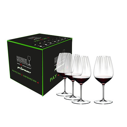Riedel Performance Cabernet/Merlot Pay 3 Get 4